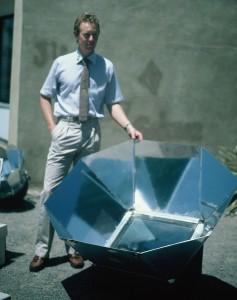 hybrid solar oven