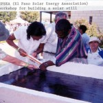 solar distiller workshop
