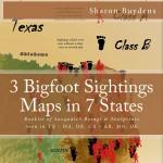 Bigfoot Sightings Maps