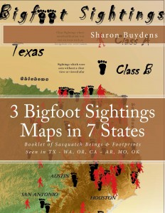 Bigfoot Sightings Maps