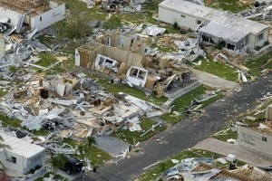 Homes built to code (hurricane Charley)